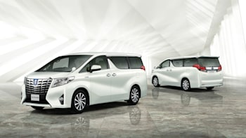 Toyota Alphard and Vellfire JDM minivans look weirder than ever