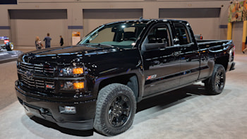 Chevy Silverado Midnight Edition Custom Ready To Stand Out In