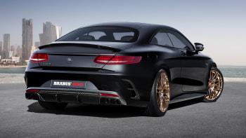 Brabus 850 6 0 Biturbo Coupe Is An Extroverted 217 Mph Mercedes S63
