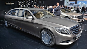 mercedes rolls out the long red carpet for new maybach s600 pullman