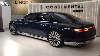 Lincoln Continental Concept: New York 2015 Photo Gallery - Autoblog