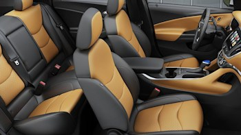 2016 Chevy Volt Interior With Jet Black Brandy Leather