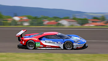 Ford Gt Lm Gte Pro On Track Side Front