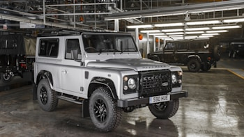 Land Rover Defender 2 000 Factory Front 3 4