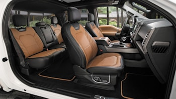 The 2016 Ford F 150 Limited Interior