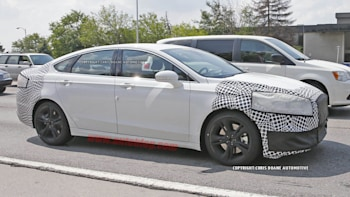 Ford Fusion St >> Ford Fusion St Spy Shots Photo Gallery Autoblog