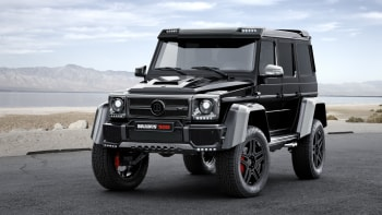 Brabus Tuned Mercedes G500 4x4 Is An Over Powered Off Roader Autoblog