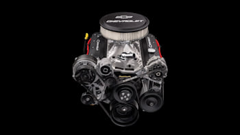 New Chevy Small Block crate engine has 405 hp, endless