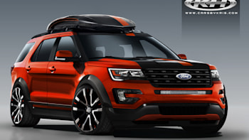 Ford Explorer Goes Sporty And Spicy For Sema Autoblog