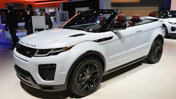 2016 Land Rover Range Rover Evoque Convertible Is Right At Home In