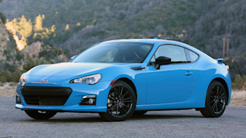 2016 Subaru Brz Series Hyperblue Quick Spin