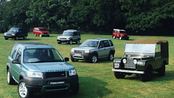 Land Rover now considers the Freelander a Heritage vehicle