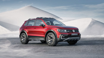 Vw Tiguan Gte Active Concept Is A Sporty Off Road Hybrid W Video
