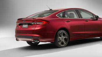 2017 Ford Fusion Gets 325 Hp Sport Model With Awd Autoblog