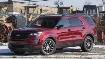 2016 Ford Explorer Sport Front 3 4 View