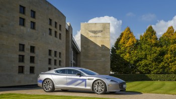 Aston Martin Partners With Chinese Company To Make Rapide By 2018