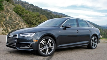 2017 Audi A4 Front 3 4 View
