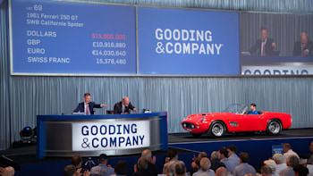 Ferrari 250 Gt California Nets 17 Million At Amelia Island Autoblog