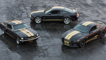 2016 Ford Shelby GT-H celebrates 50 years of Rent-A-Racers