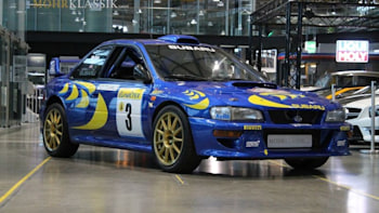 You Can Own This Legendary Subaru Rally Car Autoblog