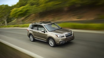 2017 Subaru Forester has new face, better EyeSight, torque