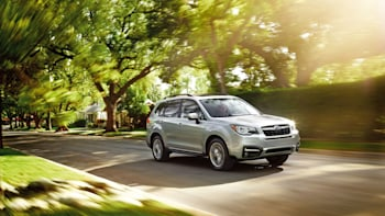 2017 Subaru Forester Three Quarters