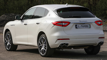 2017 Maserati Levante Rear 3 4 View