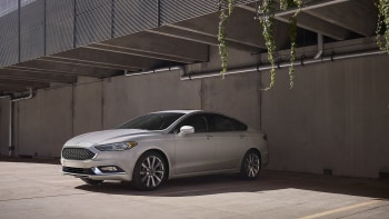 2017 Ford Fusion Front 3 4 View