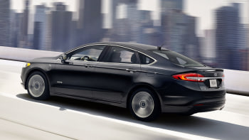 2017 Ford Fusion Energi Driving