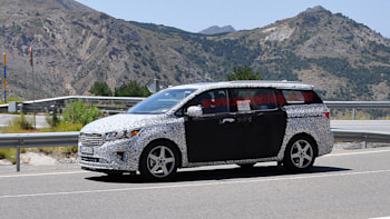 next gen kia sedona drops more camo, shows kv7 cues autoblog