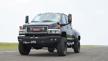ironhide edition gmc topkick 6500 pickup by monroe truck photo GMC Commercial Trucks slide 442352