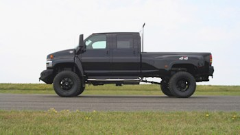 Monroe Truck Offers Production Version Of Transformers Ironhide