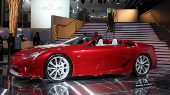 Detroit 2008: The rest of the story on the Lexus LF-A Roadster ...
