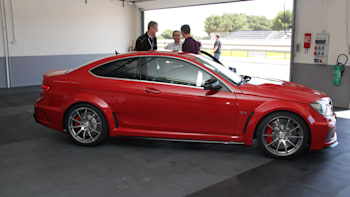 2012 Mercedes Benz C63 Amg Black Series Coupe Revealed In All Its