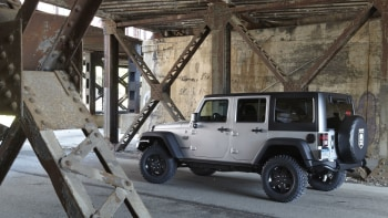 Call Of Duty Mw3 Edition Jeep Stands At Attention Autoblog