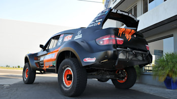 Bmw X6 Trophy Truck Augments The Already Outrageous W Video Autoblog