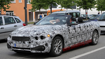 Bmw 4 Series Cabrio Caught With Its Top Down Autoblog