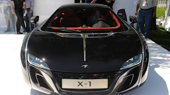 We take a closer (live) look at the McLaren X-1 Concept - Autoblog