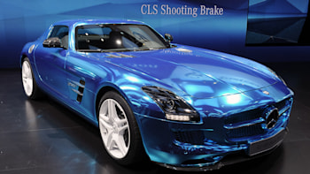 Mercedes Benz Sls Amg Electric Drive Offers Guilt Free Zero Emission Supercar Fun For 537k