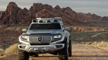 Mercedes Benz Ener G Force Concept Is A G Class For The Future