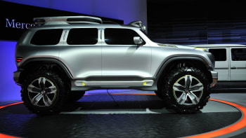 Mercedes Benz Ener G Force Concept Is Mean Clean And Green Autoblog