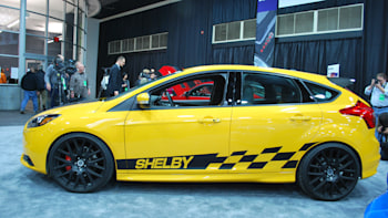 Shelby unveils tuned Ford Focus ST, widebody GT500 Super Snake ...