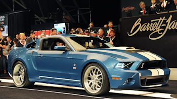 One-off 2013 Shelby GT500 Cobra raises $200k for charity at Barrett ...