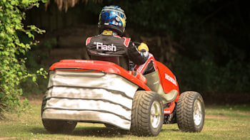 Honda Mean Mower hits 60 mph in 4 seconds, cuts to 130 mph