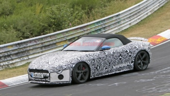 Cars That Start With B >> 2021 Jaguar F Type Coupe Convertible Spy Photos From The