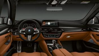 2020 Bmw M5 Competition Interior