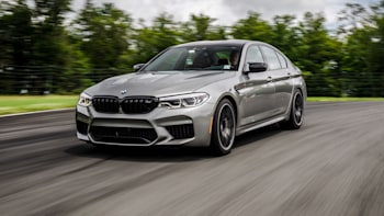 2020 BMW M5 Competition First Drive Review   Driving