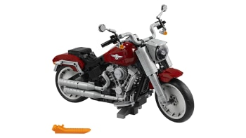 2019 Harley-Davidson Fat Boy turned into a Lego kit | Autoblog