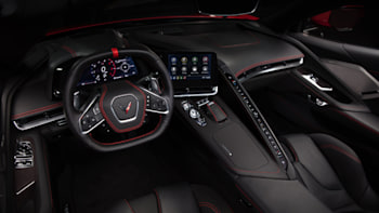 This Is The Interior Of The C8 Chevy Corvette Autoblog