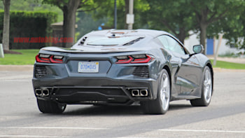 2020 Chevy Corvette Stingray C8 Spied Undisguised On Public Roads